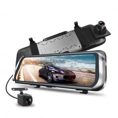 """Sistem oglinda 10"""" HD DVR+camera marsarier 12V cu 2 camere AF-100320-2"""