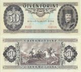 1989 ( 10 I ) , 50 forint ( P-170h ) - Ungaria - stare UNC