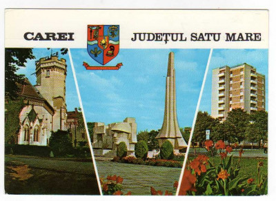 CAREI JUDETUL SATU MARE MOZAIC foto