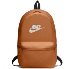 Ghiozdan rucsac Nike Heritage portocaliu 43 cm