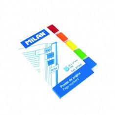 Bloc notes adeziv index 5x45x12 transparent MILAN