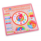 Calendar luni, zile, data si ora PlayLearn Toys