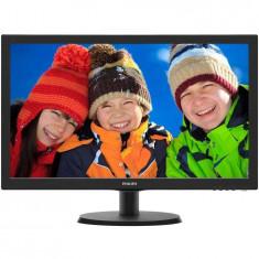 Monitor LED Philips 21.5, Wide, Full HD, HDMI, Negru, 223V5LHSB2/00
