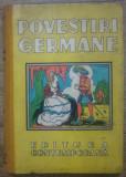 Povestiri germane - Virgil Tempeanu/ ilustratii I. Druga