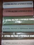 C. OLTEANU - S. PASCU - ISTORIA MILITARA A POPORULUI ROMAN -VOL I-VI {1984-1989}