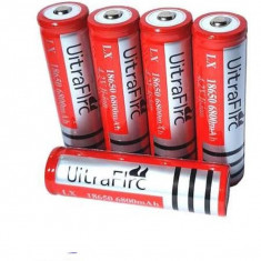 Acumulator 18650 6800 mAh 4.2V Li-ion gen UltraFire reincarcabil