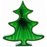 Figurina luminoasa Bradut, efect tunel infinit, 56 LED-uri, 22 cm, Home