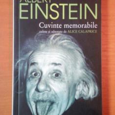CUVINTE MEMORABILE - ALBERT EINSTEIN