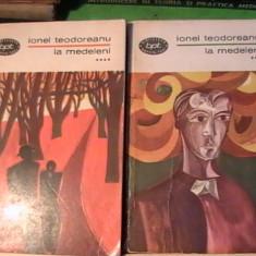 LA MEDELENI-IONEL TEODOREANU=-4 VOL-, Alta editura
