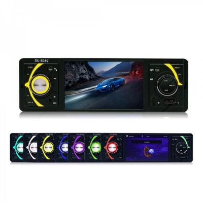 Radio Mp5 Player SU-5089 , Bluetooth, cititor card SD, USB si alte functii foto