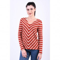 Bluza Only Emmy V-Neck Ketchup
