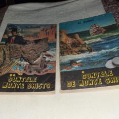 ALEXANDRE DUMAS: CONTELE DE MONTE-CRISTO (2 VOLUME)