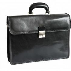 Servieta din piele naturala, geanta acte, S116