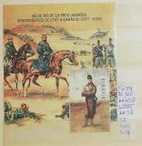 2002 125 de ani de la proclamarea independentei de stat Bl.320 LP1585 MNH, Sport, Nestampilat