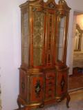 Vitrina pictata stil baroc venetian/florentin, Italia, 1900-1950, Sufragerii si mobilier salon, 1900 - 1949