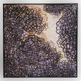 Tablou abstract,original, unicat 40x40 cm