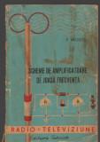 C8852 SCHEME DE AMPLIFICATOARE DE JOASA FRECVENTA - P. APOSTOL. RADIO SI TELEVIZ