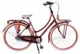 Bicicleta Salutoni, 28 inch, culoare bordo, frana fata + contraPB Cod:82851