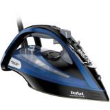 Fier de calcat Tefal Ultimate Pure FV9834E0, 3000 W, 0-55 g/min, jet de abur 240 g/min, functie anticalcar, albastru/negru
