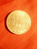 Moneda 25 000 lei 1946 Mihai I argint , cal. NC