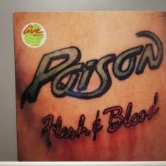 Poison – Flesh & Blood (1990/Capitol/UK) - Vinil/Vinyl/Impecabil