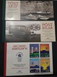 Lot de trei carnete cu timbre MNH - Islanda 1995, 1996