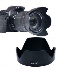 Parasolar Canon EW-73B replace obiectiv petala aparat foto EF-S 18-135mm