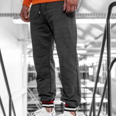 Pantaloni trening bărbați grafit Bolf 145368