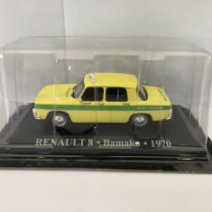 Macheta Dacia 1100 Renault 8 IXO Taxi Bamako 1970 1/43