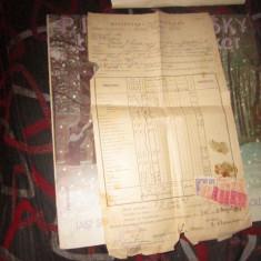 Matricola scolara de la liceul carmen sylva an 1948 religie catolica  n26