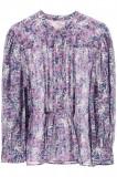 Cumpara ieftin Camasa dama Isabel marant etoile adigra shirt in floral cotton HT1977 21P009E 30FN Multicolor, 36