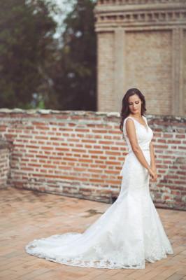 Rochie de mireasa + voal + cordon - ORIGINALE foto