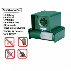 Aparat anti pasari rozatoare caini pisici cu ultrasunete Animal Away Plus