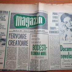 magazin 14 ianuarie 1967-art. si foto comuna bodesti,jud. neamt