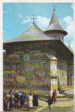 Bnk cp Biserica fostei manastiri Voronet - Vedere - circulata, Printata