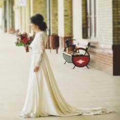 Vând rochie de mireasă, 36, Ivoire