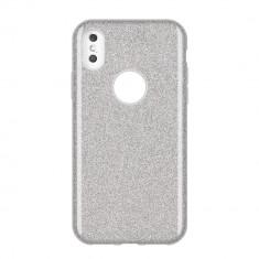 Husa Huawei P Smart 2019, Glitter / Sclipici, Silver
