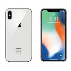 Telefon iPhone X 256GB Argintiu