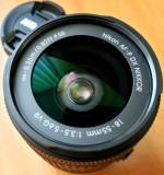 Obiectiv Nikon 18-55mm F3.5-5.6G AF-P VR DX+Filtru CPL Polaroid,Parasolar., Nikkor
