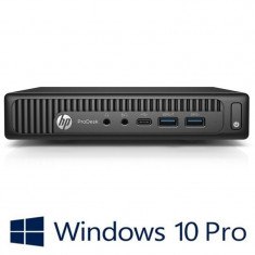 Calculatoare Refurbished HP ProDesk 600 G2 USFF, i5-6500t, Win 10 Pro