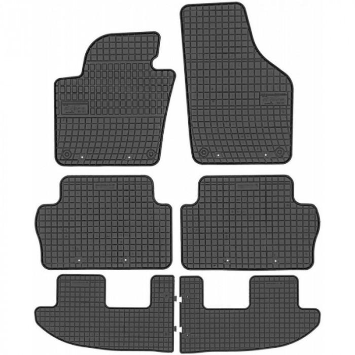 Set Covorase Auto Cauciuc Negro Seat Alhambra 2 7 Locuri 2010→ 0405 + 04051