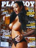 Revista Playboy Ianuarie - Februarie 2011 + Cartea 101 Vinuri romanesti de top