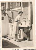 D1123 Tanara spaland 1942 fotografie romaneasca