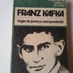 Franz Kafka - Pagini De Jurnal