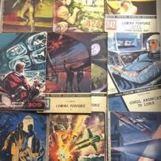 Colectia de povestiri stiintifico-fantastice  lot de 10 brosuri