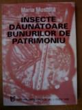 Insecte dăunătoare bunurilor de patrimoniu Maria Mustaţă 1998