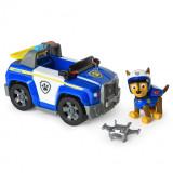 Set de joaca Chase si masina de politie cu drona Patrula Catelusilor