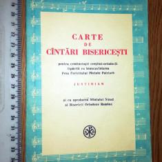 CARTE DE CANTARI CRESTINESTI -1975- PT CREDINCIOSII CRESTINI ORTODOCSI