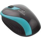 Mouse optic ESPERANZA Titanum, Wireless, Negru/Turcoaz