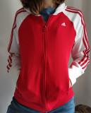 Hanorac cu fermoar ADIDAS fete Mărimea M, Rosu, Adidas Originals by Danielle Cathari